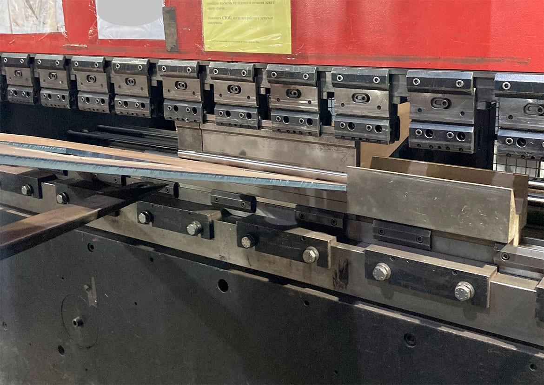 Гибка массивной детали 14 мм сталь 09г2с - ПОСЛЕ