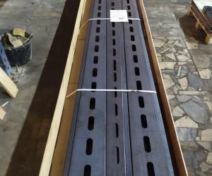 Гибка профиля 4,3 метра длиной