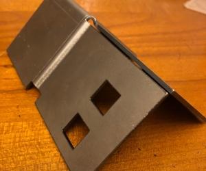 Z-гиб черная сталь 2 мм