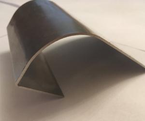 Радиусная гибка нержавейки 2 мм