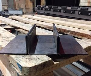 Плющение чёрная сталь 3 мм