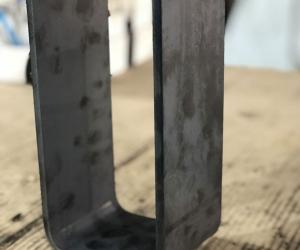 Гибка сталь 09г2с толщина 8 мм