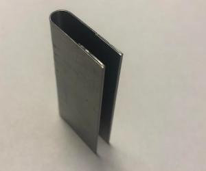 Радиусная гибка + плющение сталь 0.5 мм